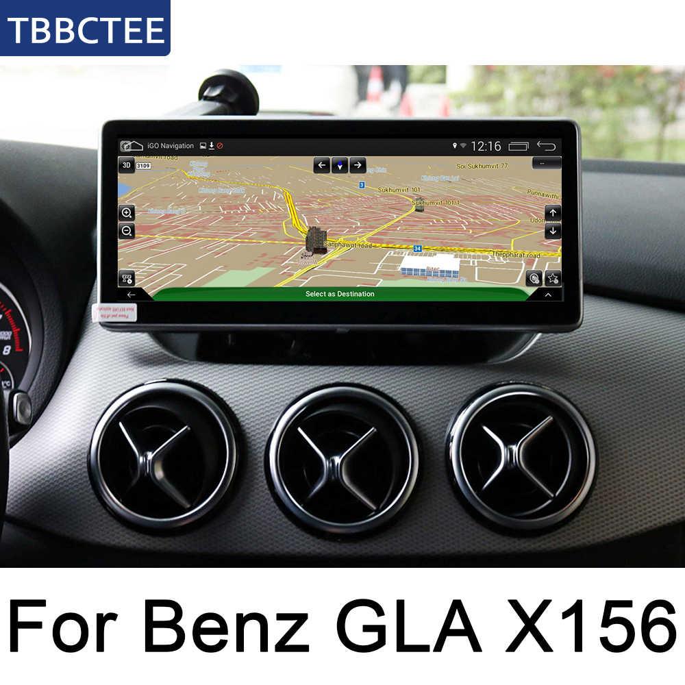 メルセデスベンツ GLA クラス X156 2015 〜 2019 NTG アンドロイド IPS 車プレーヤーオリジナルスタイル Autoradio gps ナビゲーション地図ブルートゥース無線 Lan