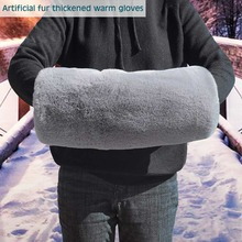Hand Warmer Covering Winter Hand Muff Black/Gray Color Cheap Warm Handwarmers in Stock Hand Warmer 2021 New