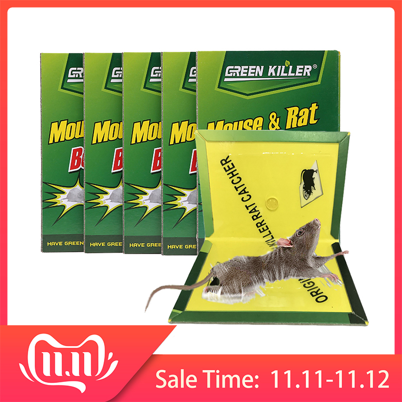 20*30CM 10pc Mouse Board Sticky Mice Glue Trap High Effective Rodent Snake Catcher Pest Control Reject Non-toxic Eco-Friendly