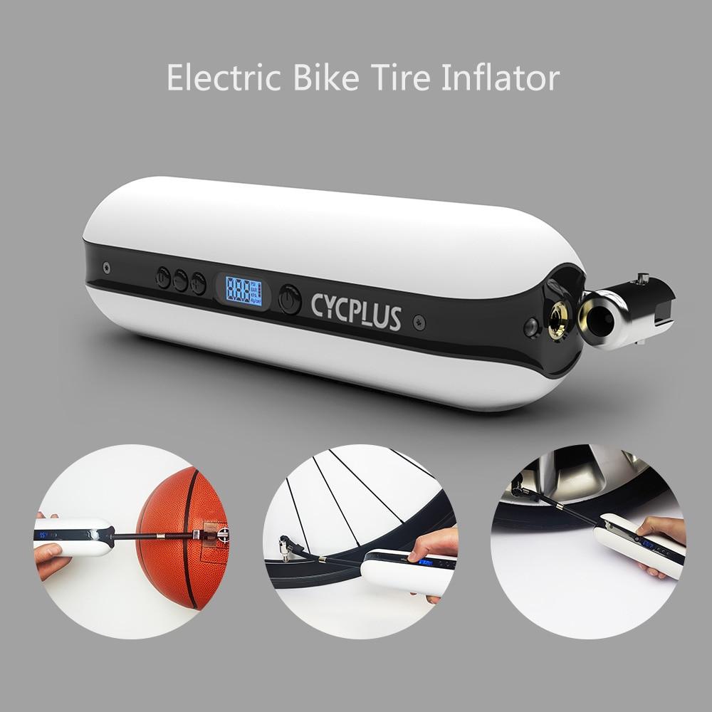 150PSI Bike Electric Inflator Bicycle Cycle Air Pressure Pump Rechargeable Y8G6