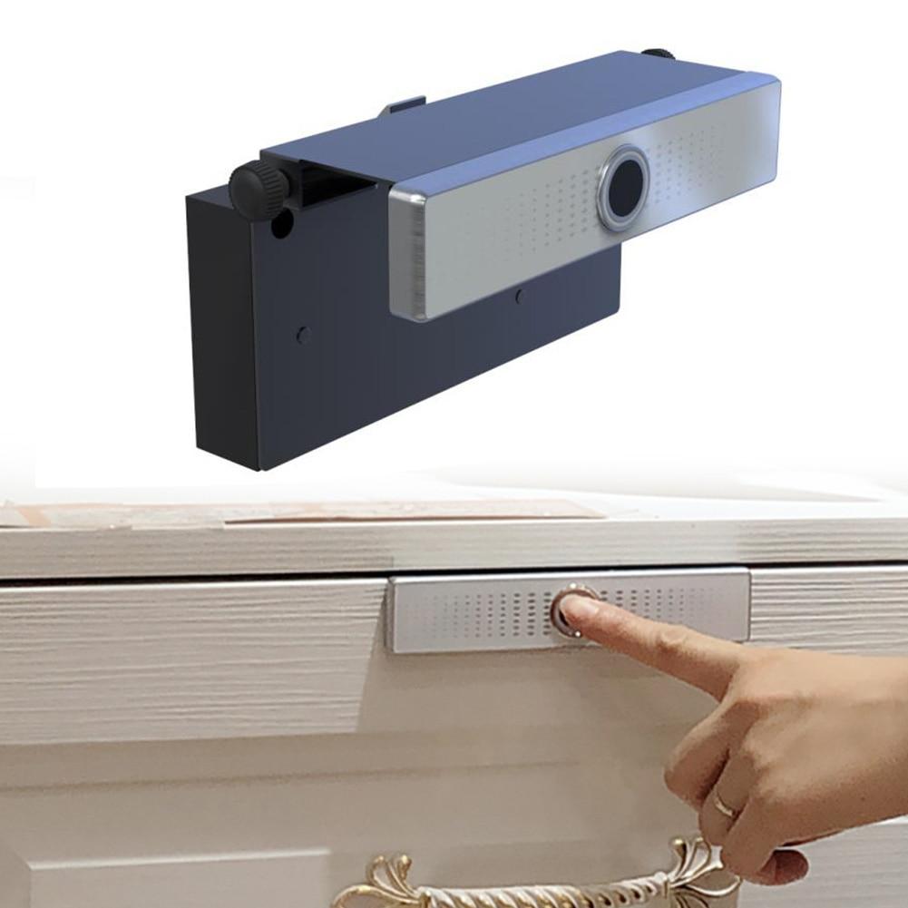 Safe Office Electric Smart Door Intelligent Drawer Cabinet Anti Theft Wardrobe Household Desk Fingerprint Lock Mini Home Living