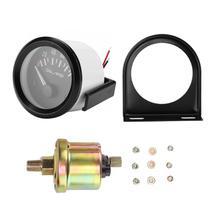 52 мм/2 дюйма 12 В Универсальный Автомобильный Электромагнитный индикатор измерителя давления масла Авто Модифицированный счетчик манометр для машины новое поступление