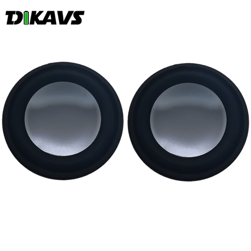 2Pcs 40mm 4 Ohm 3W Full-range Audio Speaker Stereo Woofer Loudspeaker  Acoustic Speaker  Diy Speakers