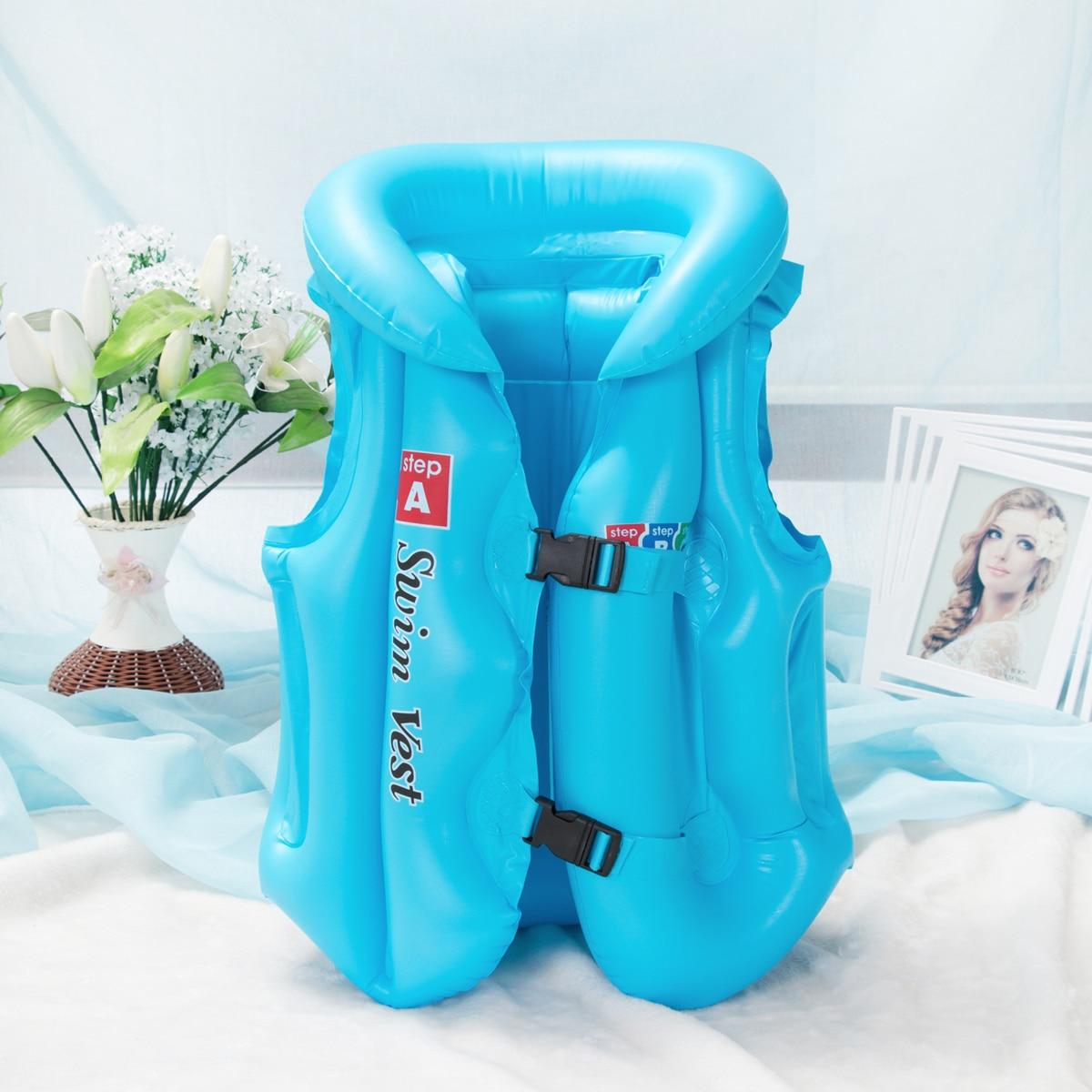 Adjustable Life Vest Swimsuit Child Inflatable Pool Float Children Kids Babies Swimming Drifting Boating Safety Jacket