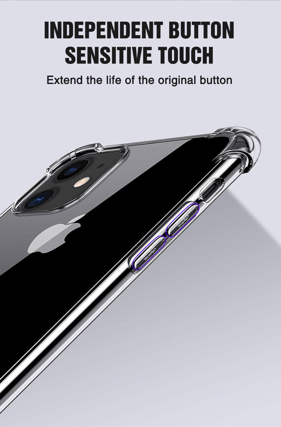 iPhone 12 Pro Max transparent case