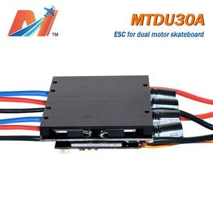 Image 3 - Maytech מכירת חיסול (קידום) כפולה מנוע חשמלי סקייטבורד ESC 30A 10S סקייטבורד מהירות בקר