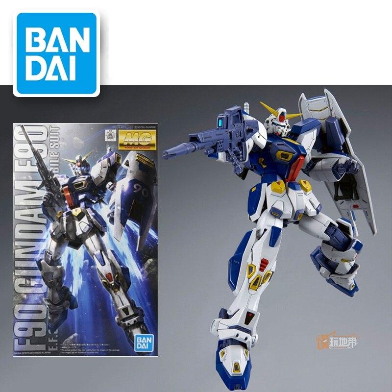 Japaness Original Gundam PB MG 1/100 modelo F90, traje móvil Gundam, juguetes para niños con soporte DIY juego de puzle para adultos hecho a mano, juguetes educativos para hacer uno mismo 3D con edificios arquitectónicos y papel para hacerlo tú mismo de la catedral de Italia