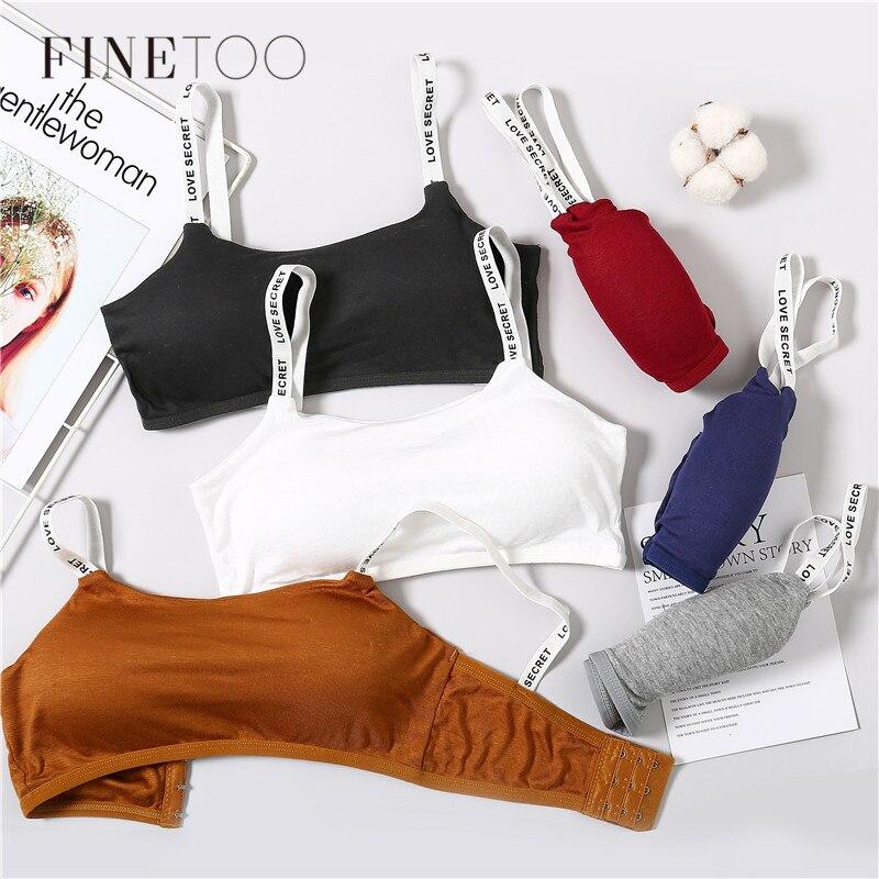 Soft Padded Bralette Fashion Letter Bras For Women Sexy Wireless Bra Love Secret Underwear Female Lingerie Ladies Brassiere NEW