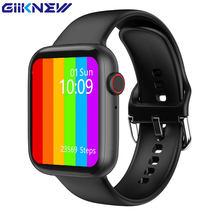 GIINKWE IWO W26 Smart Watch Series 6 40mm 44mm z otrzymać telefon zwrotny od wiadomość z przypomnieniem ekg PPG tętno IWO W26 Smartwatch dla androida IOS