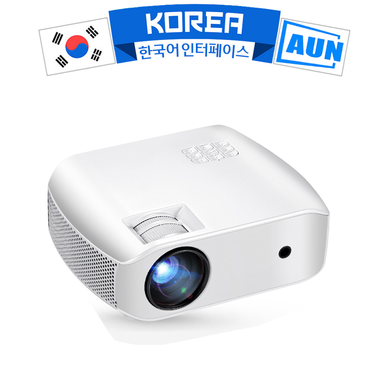 AUN HD LED Projector F10UP  1280x720P  2800 Brightness  Digital Projector for Home Theater 3D Beamer  Support 1080P  HD IN|LCD Projectors| |  - title=