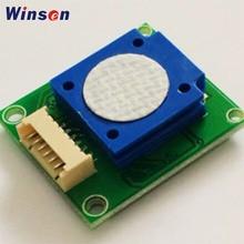 2 個 winsen ZE14 O3/ZE25 O3 オゾン検出モジュール uart/アナログ電圧/pwm 波出力で使用空気品質監視装置