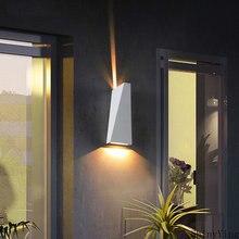 Светодиодный настенный светильник для сада современный простой
