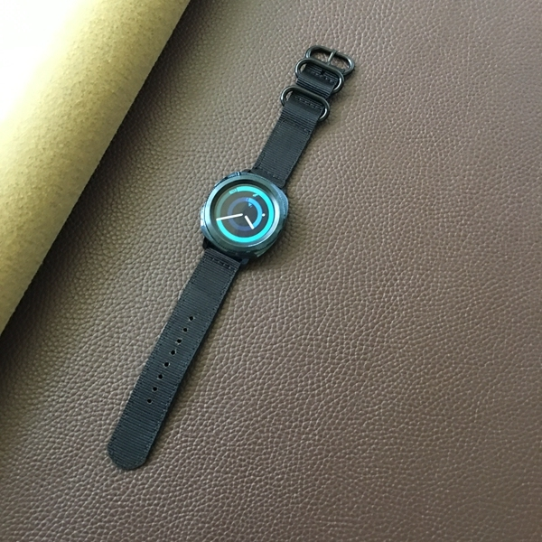 22mm 20mm nylon Strap huami amazfit bip gtr for Samsung Gear S3 s2 sport Frontier Classic galaxy watch 42mm 46 Band huawei gt 2 | Watchbands