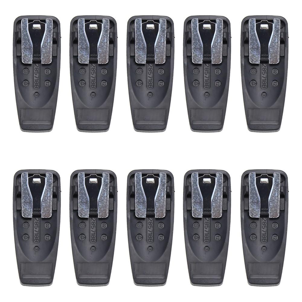 10X Belt Clip For Motorola GP140 GP328 GP340 HT750 PRO5150 GP88S XTS2500 GP338