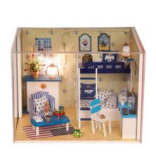 Doll house model toys role play elegant house  furnishing Dream of Sky home room children toys kids educational toys doll house model toys role play elegant house furnishing warm time room children toys kids educational toys