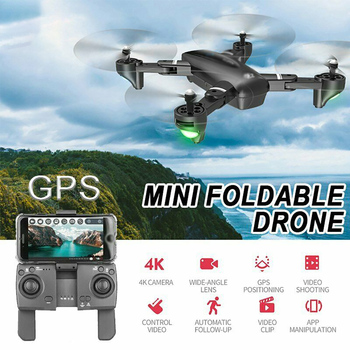 Mini RC Drone 4K HD GPS 5G 2.4G-4K Camera Professional Aerial Photography Helicopter Gravity Induction Folding Quadcopter