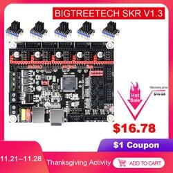 Placa de Controle V1.3 32 SKR BIGTREETECH Pouco Smoothieboard TMC2208 TMC2130 3D Peças Da Impressora Para MKS GEN L Rampas 1.4/ 1.6 CR10 CR-10