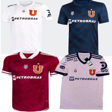 Novo 20 21 universidad de chile camisa riquelme montillo aranguiz larrivey barros novo 2122 universidad de chile camisa de qualidade superior