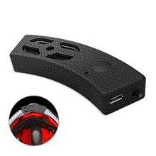 Wasserdichte Fahrrad Stereo Hände Frei Mini Bluetooth Lautsprecher Subwoofer Helm Headset Motorrad Zubehör Musik Outdoor Sport