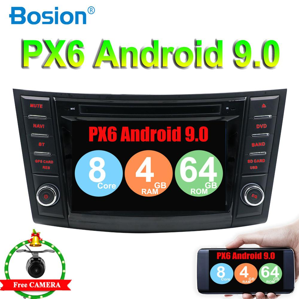 2 din car dvd gps radio 7inch touch screen for Suzuki Swift 2011 2012 2013 2014 2015 2016 HDMI 4G 64G PX6 System Android 9 WIFI