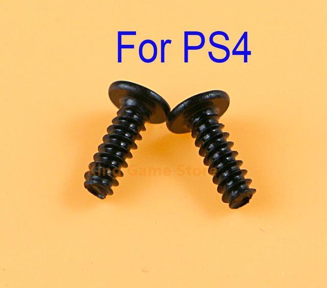 2000pcs החלפת ידית בורג שחור ברגים עבור Sony פלייסטיישן 4 PS4 בקר תיקון חלקי ערכת בורג