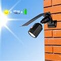 10 LED Солнечный Свет регулируемый угол освещения 500lm водонепроницаемый светильник проектор с тремя режимами для наружного настенного патио