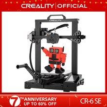 Creality 3d impressora nova super CR-6 se silencioso mainboard currículo impressão filamento dom gratuito