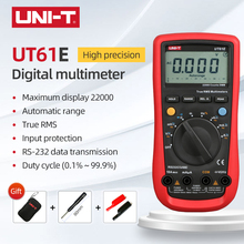 UNI-T UT61E Modern Digital Multimeter True RMS Auto Range 22000 Display Count MAX/MIN/REL