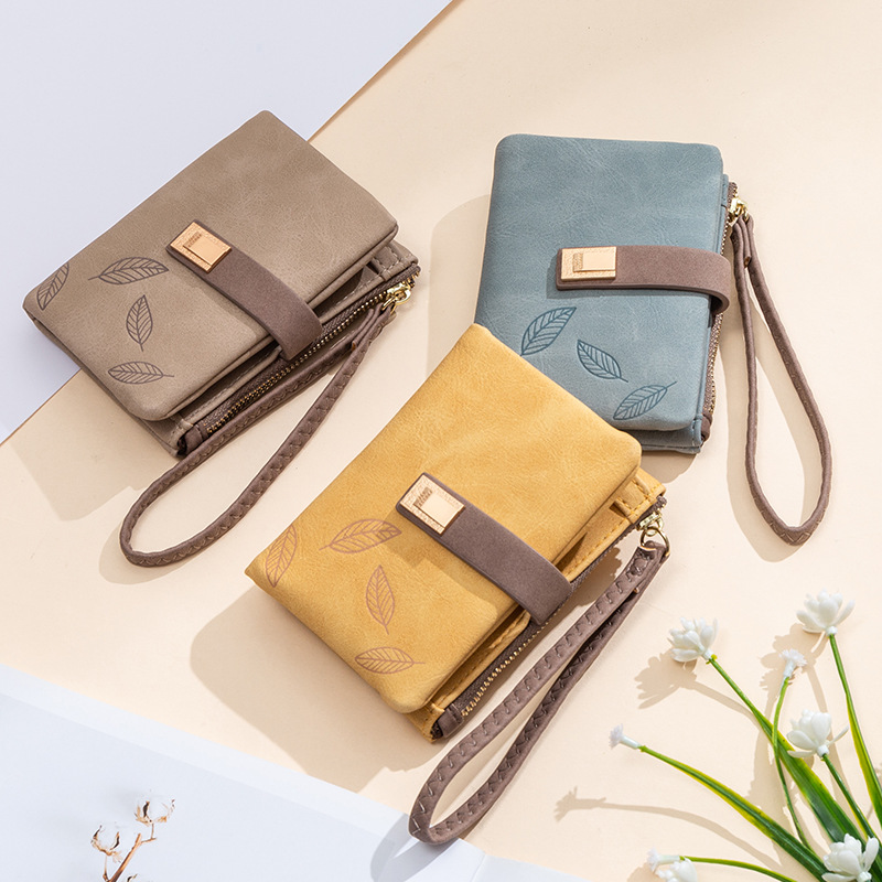 2020 New Fashion Women Wallet Zipper Hasp Small Money Bag Purse Ladies Coin Credit Card Holder Leather Walet Wallets For Women