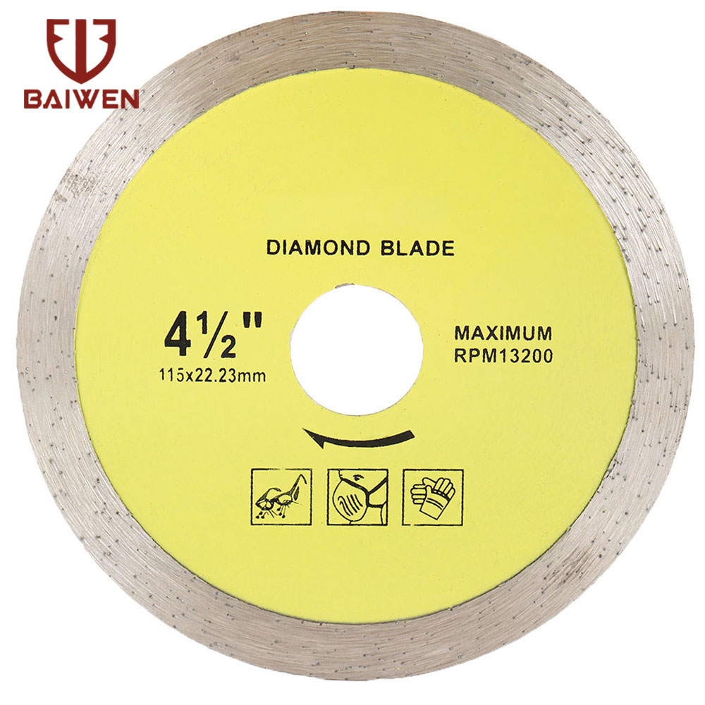 105mm/115mm/125mm/180mm/230mm Diamond Disc Saw Super Thin  Leave For Ceramics Porcelain Tiles Granite Marble Saw Blade