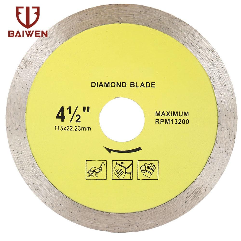 105mm/115mm/125mm/180mm/230mm Diamond Disc Saw Super Thin  Leave For Ceramics Porcelain Tiles Granite Marble Saw Blade