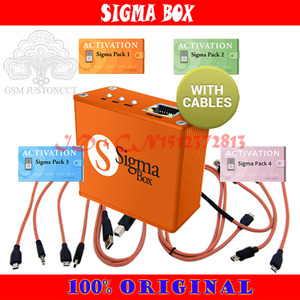 Image 4 - 2020 Newest 100% Original Sigma box + pack1 2 3 4 / + 9 Cable + Pack 1 + Pack 2 +Pack 3 + Pack 4 new update for huawei .....