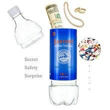 710ml garrafa de água forma desvio surpresa segredo escondido segurança recipiente stash seguro caixa plástico stash frascos organização segura