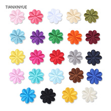 TIANXINYUE flower patches embroidery patch iron on bag DIY for clothing