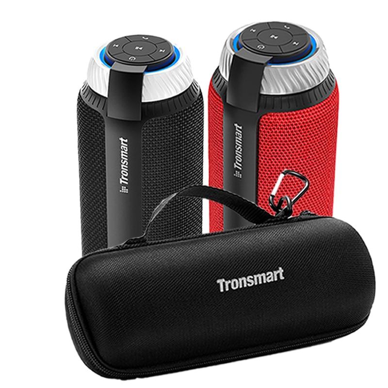 Tronsmart элемент T6 Bluetooth динамик Bluetooth 4,1 Саундбар 25 Вт Altavoz Bluetooth [только для RU] для Iphone, Xiaomi, samsung - Цвет: Black with Case