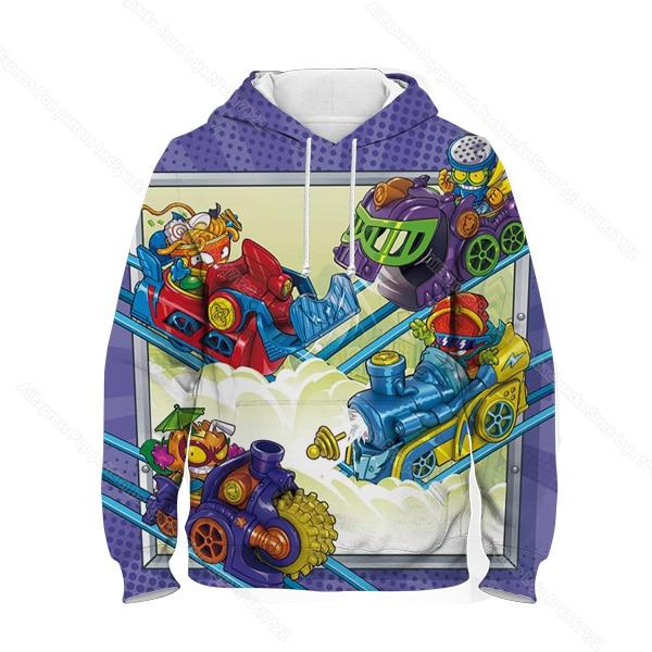 Kids 3D Print Super Zings Hoodie Autumn Winter Children Superzings 6 Series Sweatshirt Sudadera Boy Girl Cartoon Anime Pullover 12
