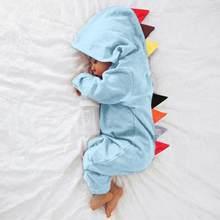 Kombinezon Romper w stylu dinozaura Patchwork noworodek Baby Boy dziewczyny wygodne miękkie body dla dzieci dziewczynka onesie