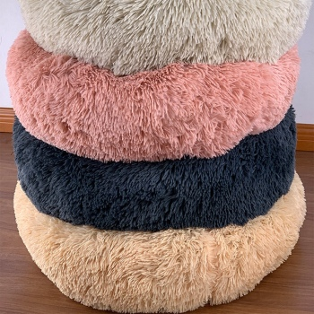 Round Plush Dogs Bed  5