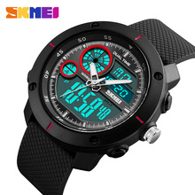 SKMEI Men 50M Waterproof  Sports Watches EL Light Double Time Watch Alarm Chrono Digital Wristwatches Relogio Masculino 1361 skmei brand digital watch men sports watches countdown double time wristwatches relojes 50m waterproof relogio masculino 1251