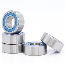 686-2RS подшипник ABEC-3(10 шт) 6x13x5 мм миниатюрные 686RS шарикоподшипники 618/6RS синий герметичный 686 2RS Rulman