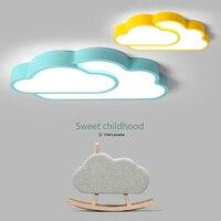 Nova Adorável Sweety Nuvem Criativo Quarto Lâmpadas de Luz de Teto Para O Quarto das Crianças Colorido Casa de Iluminação