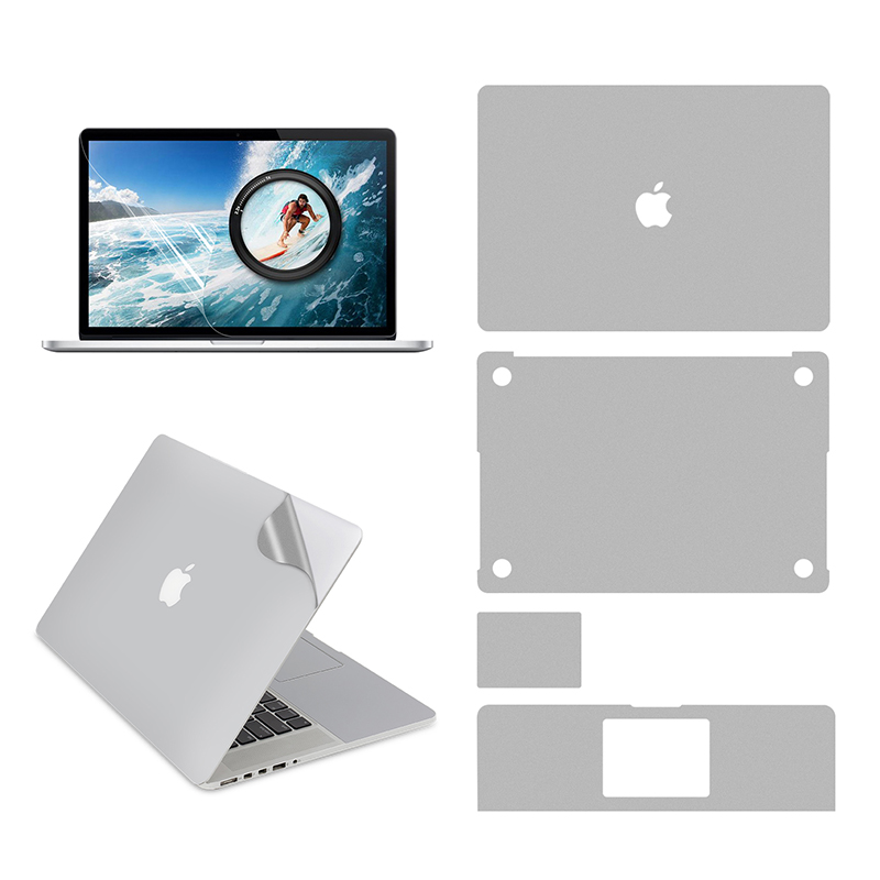 Full Body Skin For MacBook Pro 15 Inch A1398 Model, Include Top + Bottom + Touchpad + Palm Rest Skin + Screen Protector