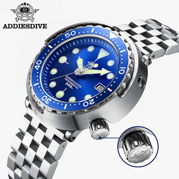 dive Addies Dive Tuna Dive Watch BGW9 Luminous Automatic Watch Man Mechanical Watch Ceramic Bezel NH35 300M Dive Watches Men's watch