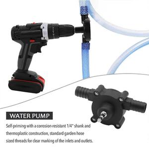 Home Hardware Equipment Portable Electric Drilling Water Pump Oil Pump Mini Manual Self-Suction Transportation Gardening Tools