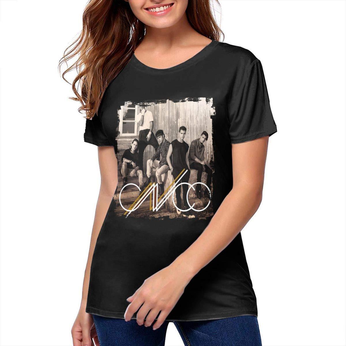 -id Womens CNCO Fashion Shirt Girls Tees Black Men Women Hoodie Sweatshirt