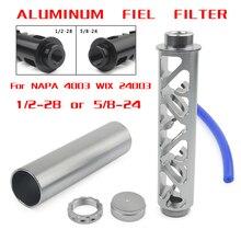 """Спиральный 1/2-28 5/8-24 одноядерный автомобильный топливный фильтр для NAPA 4003 WIX 24003 топливная ловушка растворитель фильтры 6"""""""