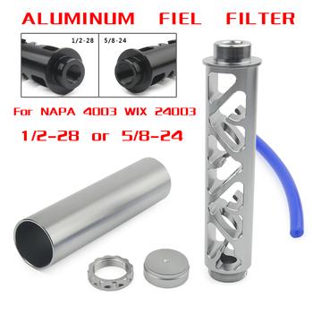 Nowy spirali 1 2-28 5 8-24 pojedynczy rdzeń filtr paliwa samochodowego do NAPA 4003 WIX 24003 paliwa pułapka filtry rozpuszczalnikowe 6 #8243 tanie i dobre opinie mrhello china