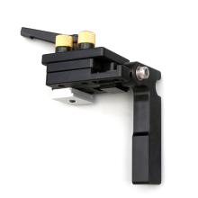 Aluminum Alloy T-track Woodworking T-slot Miter with Scale/Miter Track Stop Strong Clamping Ability for 65mm Wood
