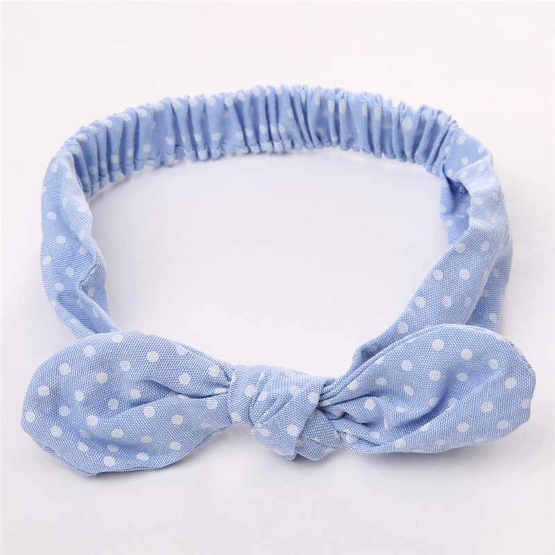 Newborn Infant Baby Bow Tie Easter Headband Bow Hairband Turban Knot Rabbit Headwear Flower Hair Band Accessories