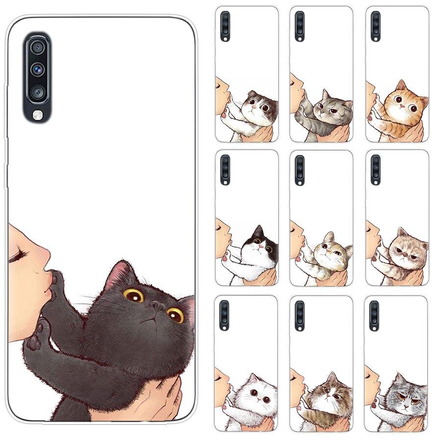 Чехол «Don't kiss My Cat» для Samsung A50 A10 A20E A51 A10S A20S Phone A30S A40 A50S A70 A71, чехол для Samsung A6 Plus A7 A8 J7 J8